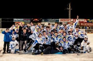 Landesligameister 2016 EHC Mils