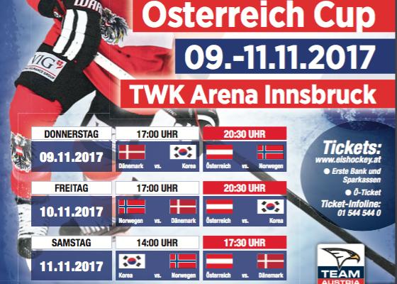Österreich testet in Innsbruck