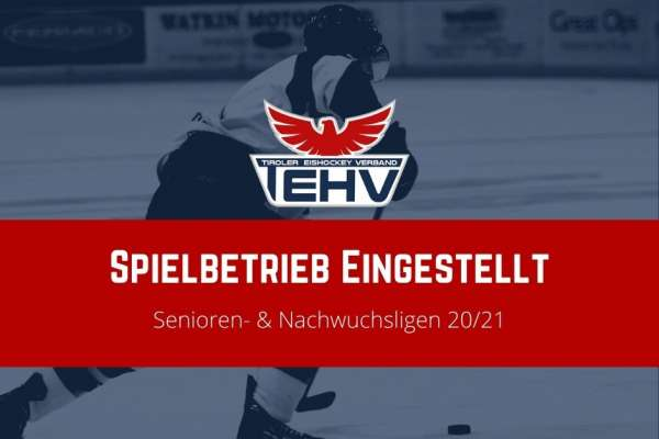 Spielbetrieb für die Saison #2021 eingestellt!